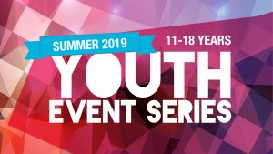 Youth Event Series - Summer 2019 Whats On Image